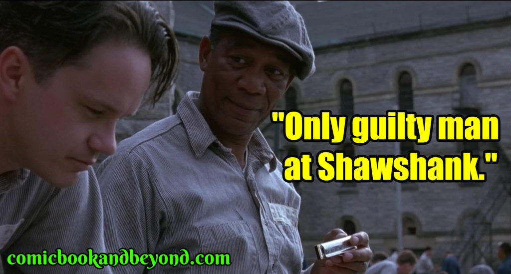 The Shawshank Redemption saying