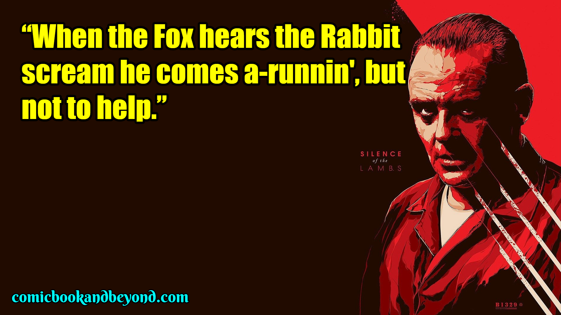 The Silence Of The Lambs SAYING