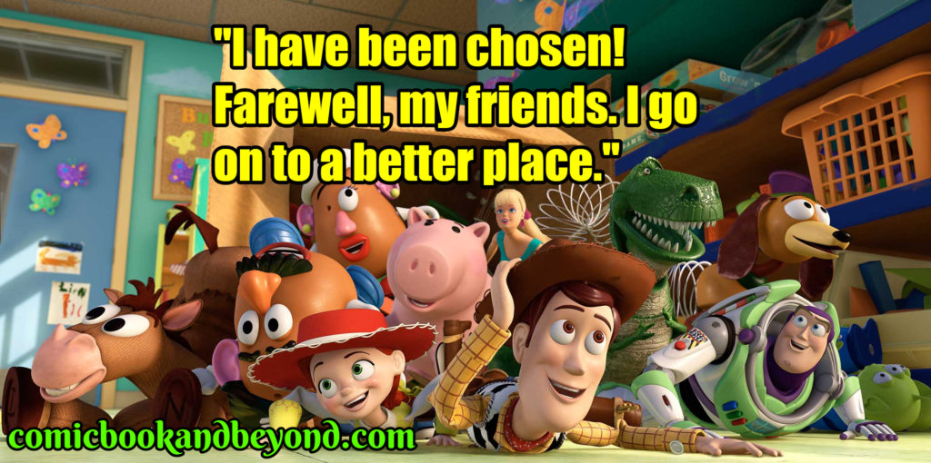 Toy Story famous quotes