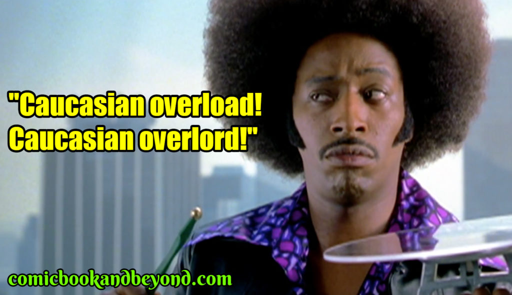 Undercover Brother saying