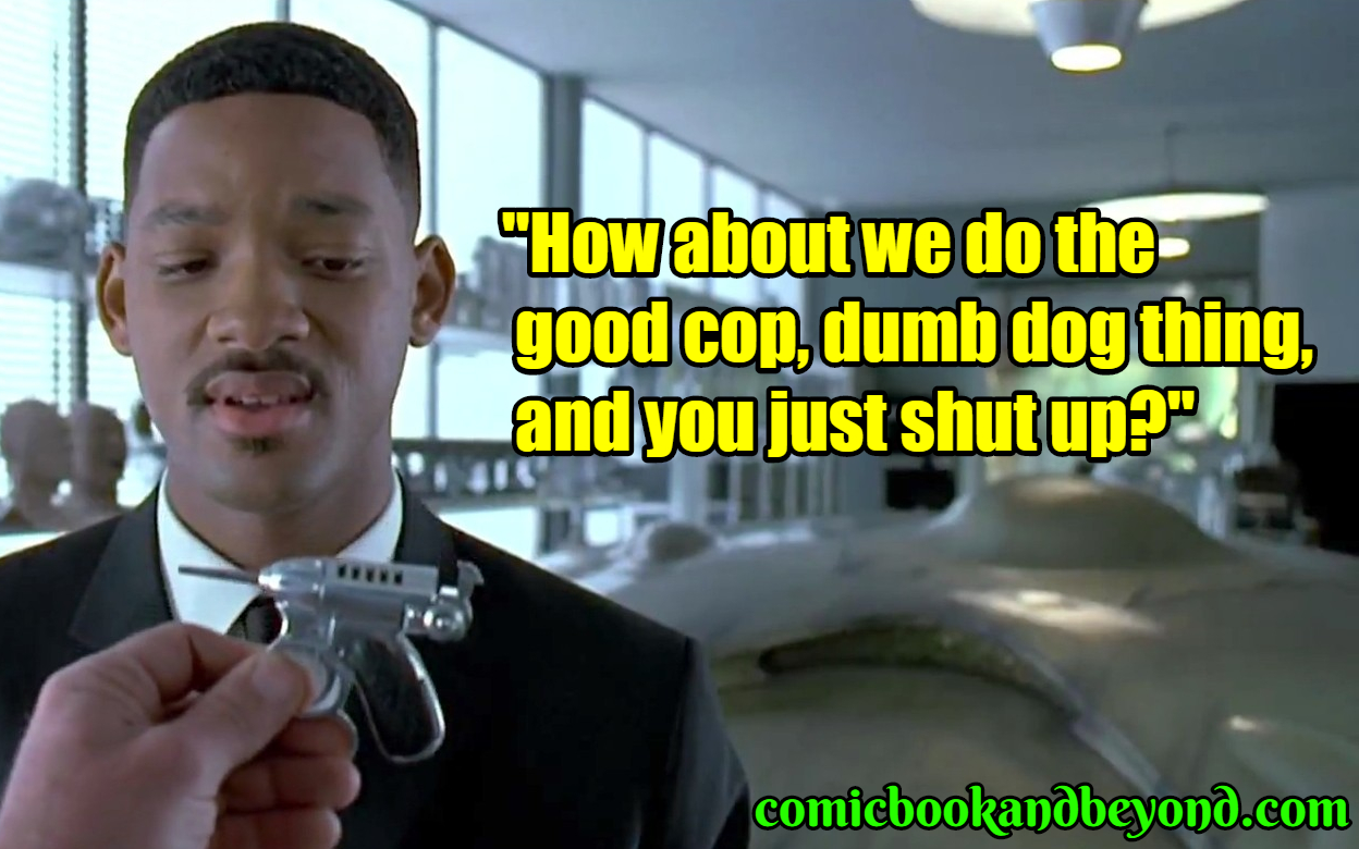 110 Agent J Quotes From Men In Black Movie Comic Books
