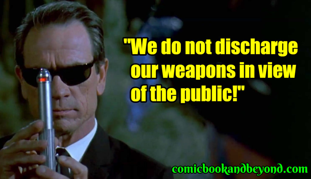 Agent Kay best quotes
