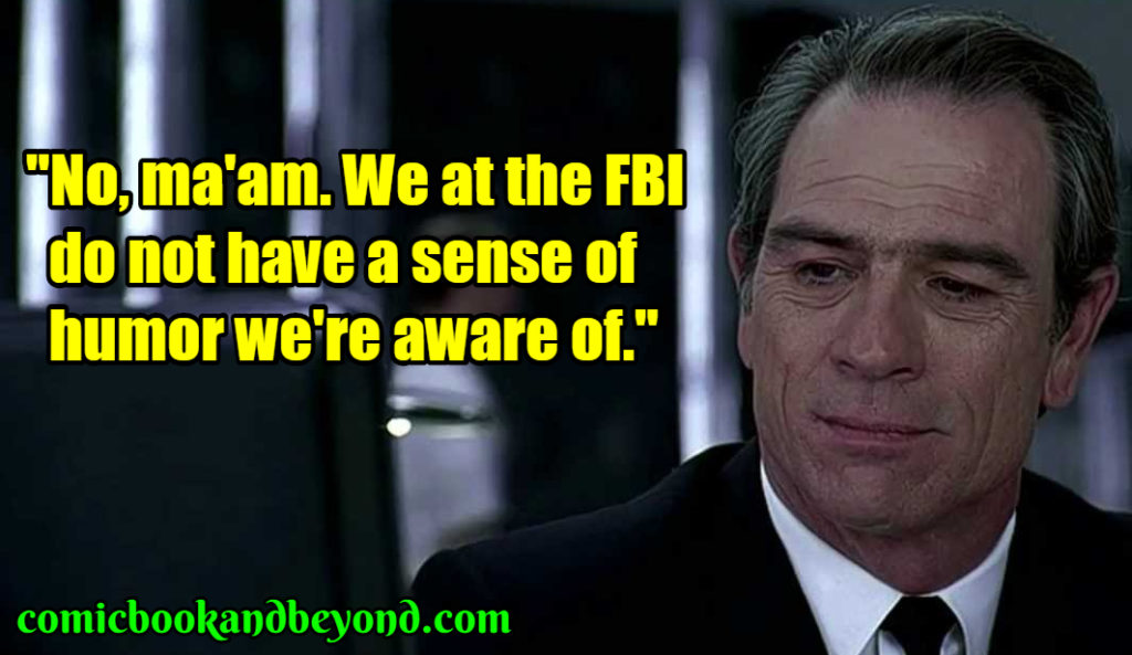 Agent Kay famous quotes