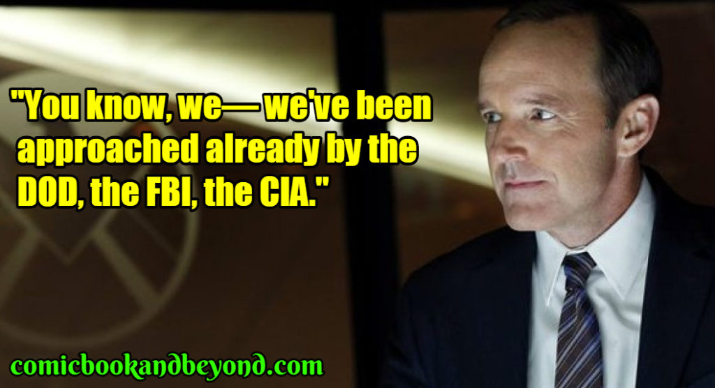 Agent Phil Coulson best quotes