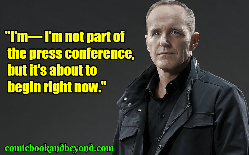 Agent Phil Coulson famous quotes