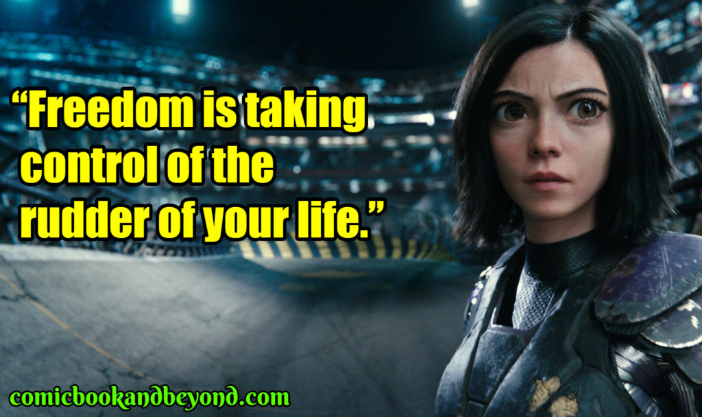 Alita best quotes