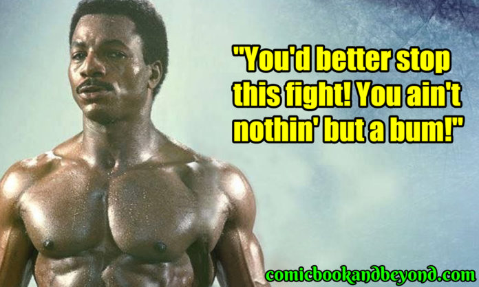 Apollo Creed famous quotes