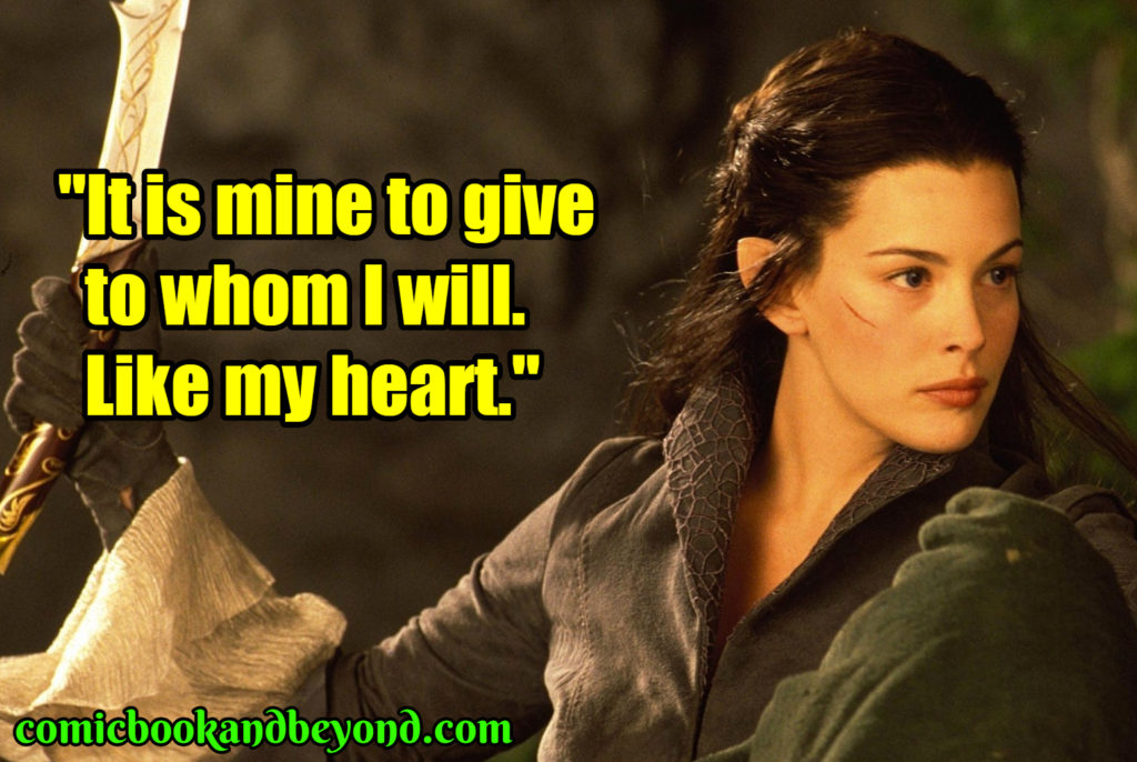 Arwen famous quotes