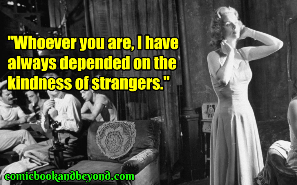 Blanche DuBois quotes