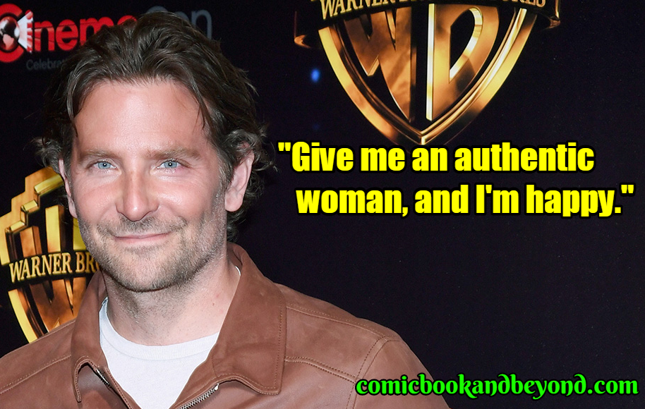 Bradley Cooper saying