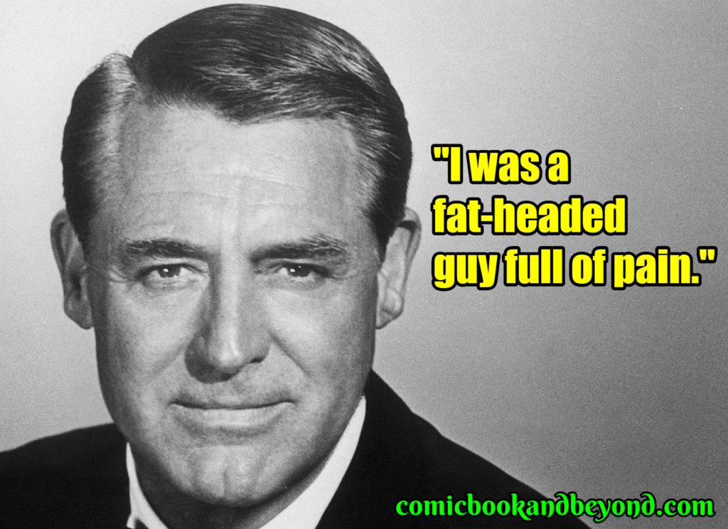 Cary Grant famous quotes