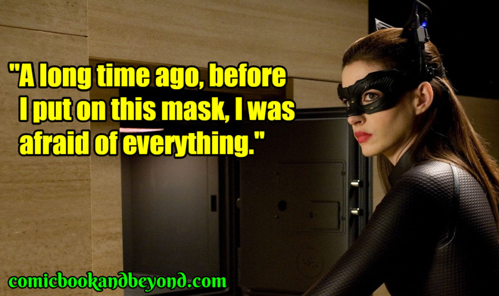 Catwoman famous quotes
