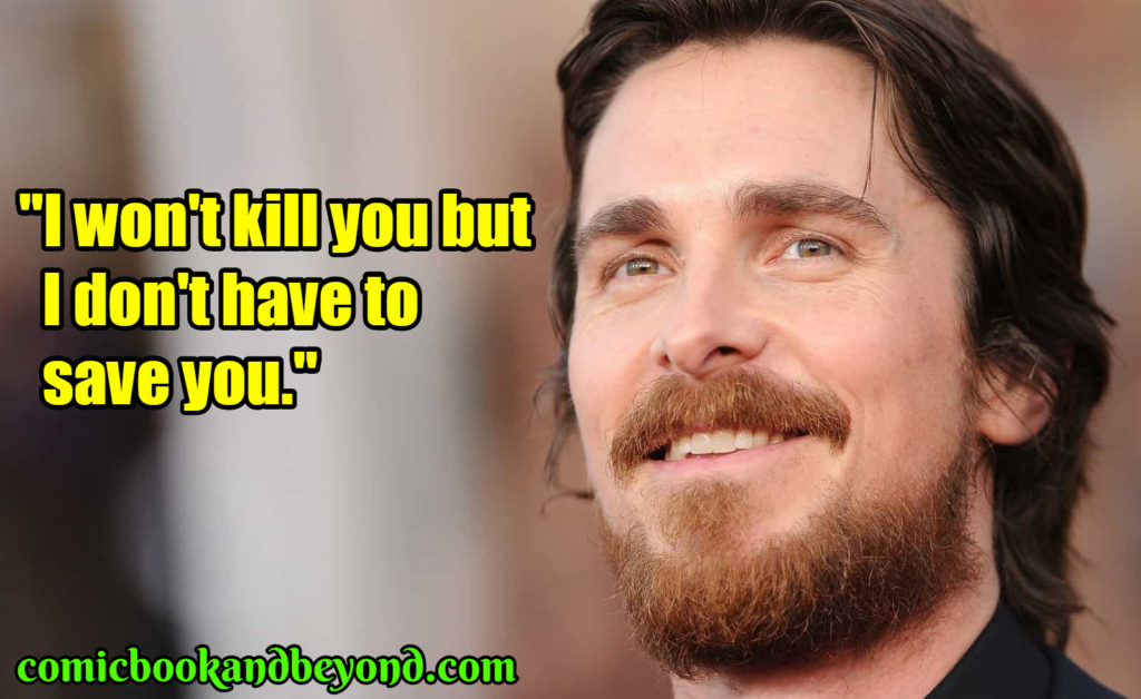 Christian Bale popular quotes