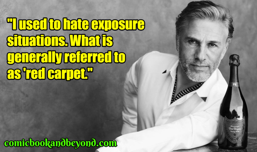 Christoph Waltz famous quotes