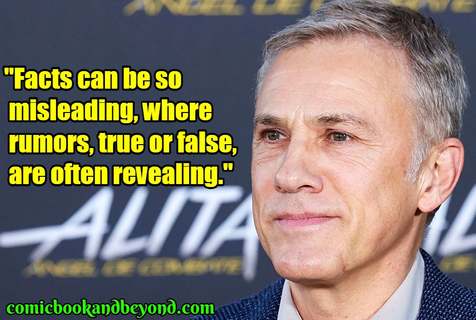 Christoph Waltz popular quotes