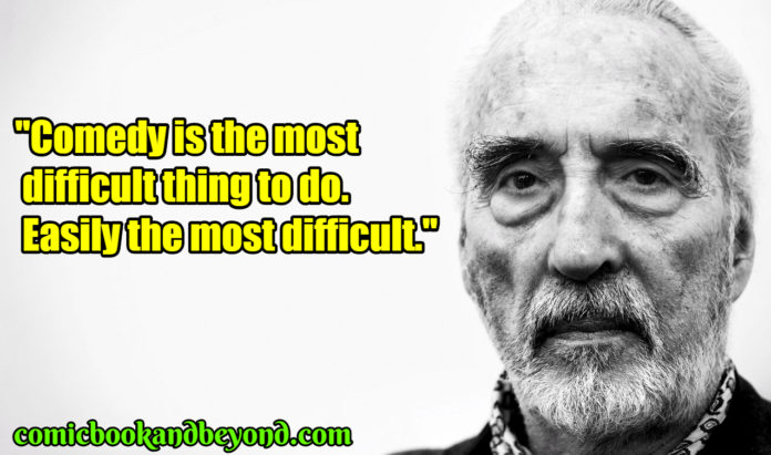 Christopher Lee quotes