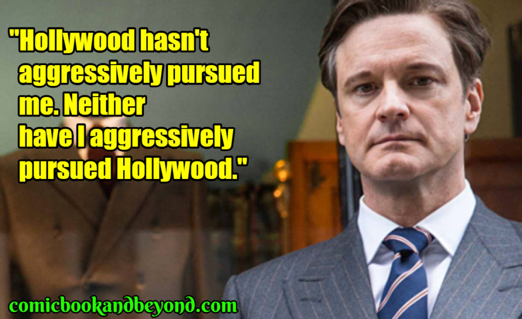 Colin Firth best quotes
