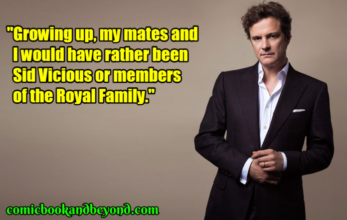 Colin Firth famous quotes