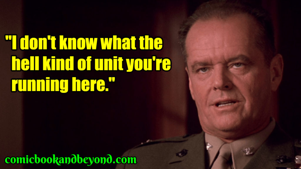Colonel Nathan Jessup saying
