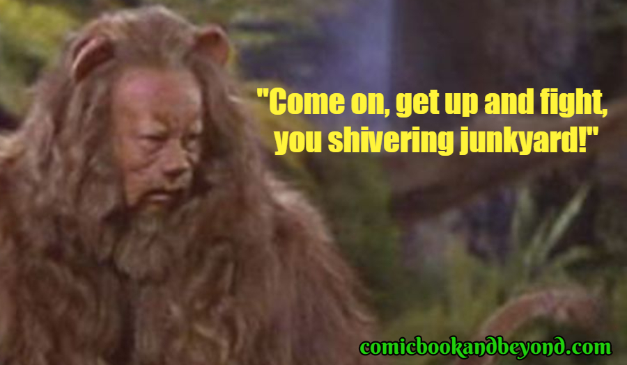Cowardly Lion Quotes