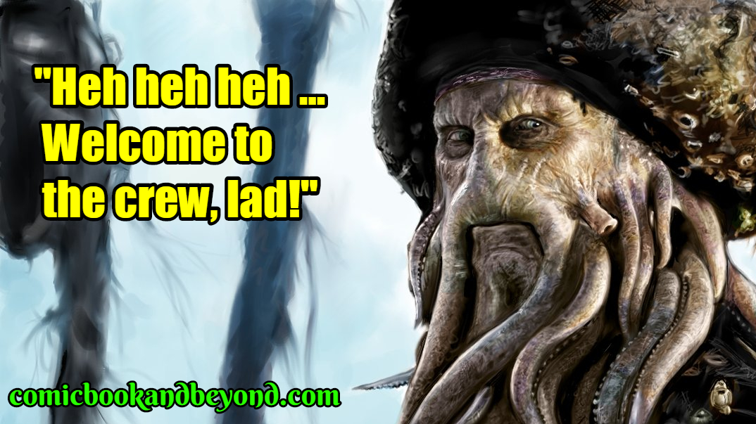 100+ Davy Jones Quotes From Pirates Of The Caribbean - Comic ...