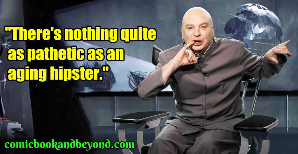 Doctor Evil saying