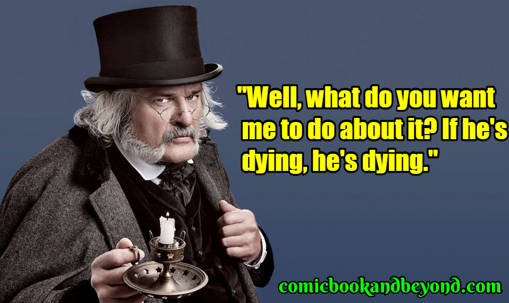 A Christmas Carol Scrooge Quotes.100 Ebenezer Scrooge Quotes From A Christmas Carol Movie
