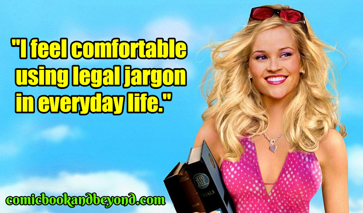 80+ Elle Woods Quotes Legally Blonde - Comic Books & Beyond