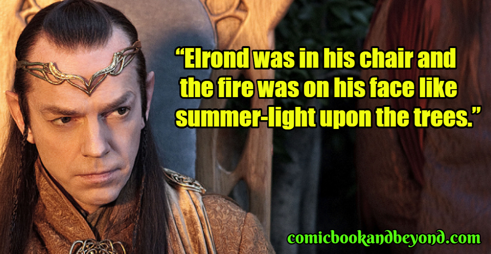 Elrond Saying