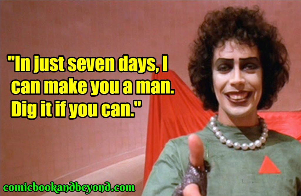 Frank N. Furter famous quotes