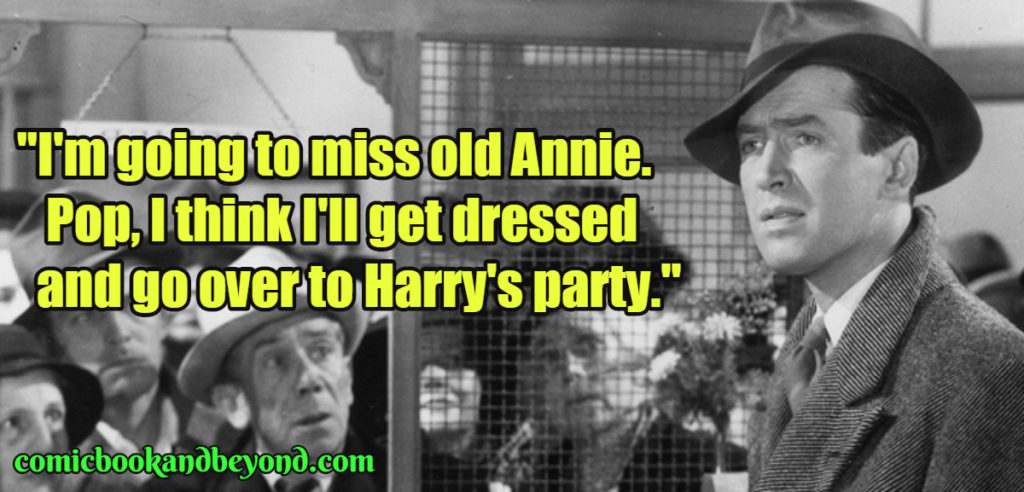 100+George Bailey Quotes From It's a Wonderful Life Movie - Comic