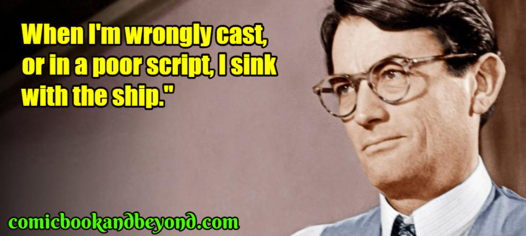Gregory Peck best quotes