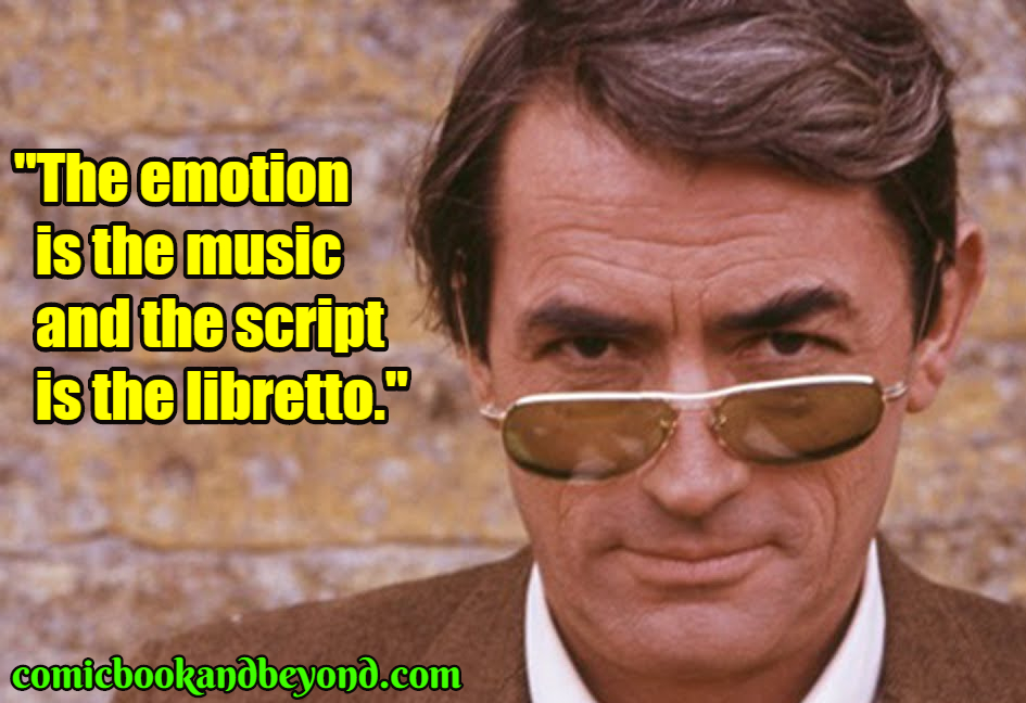 Gregory Peck popular quotes