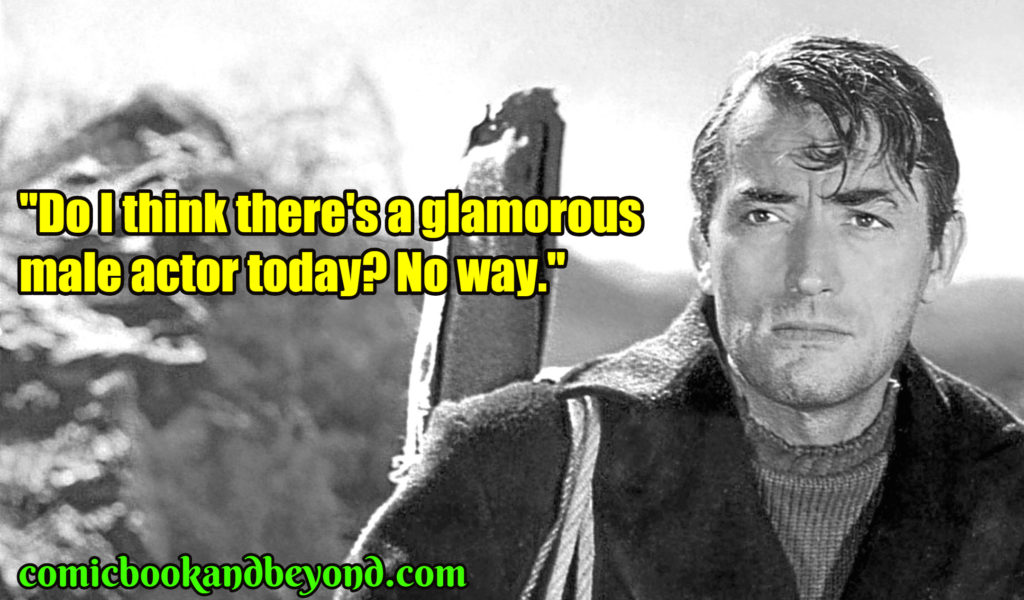 Gregory Peck quotes