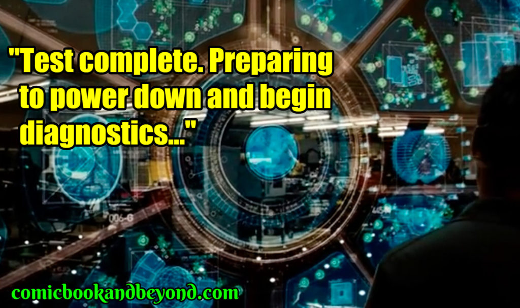 80+ Jarvis Quotes From Iron Man 3 Movie - Comic Books & Beyond