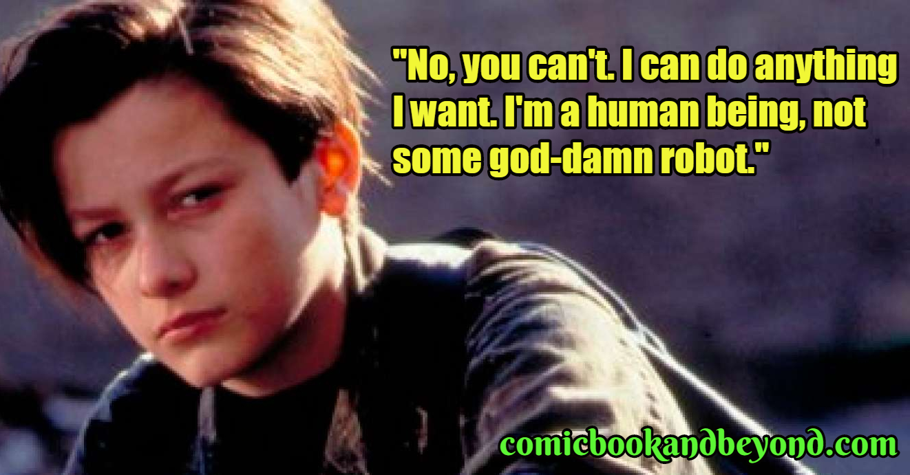 john connor quotes the terminator movie comic books beyond