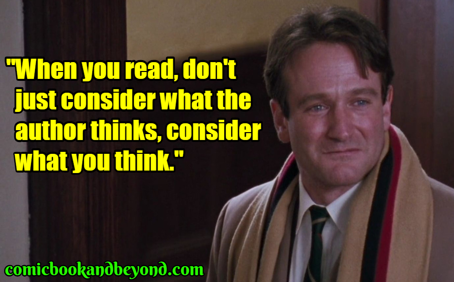 50 John Keating Quotes From Dead Poets Society That Will