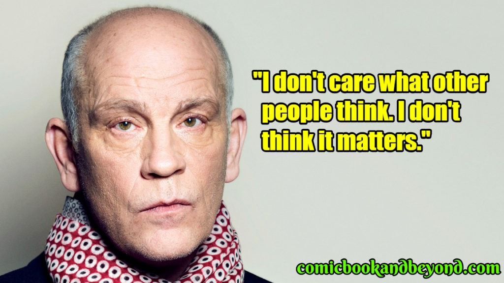 John Malkovich famous quotes