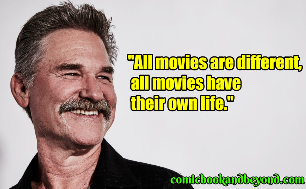 Kurt Russell saying