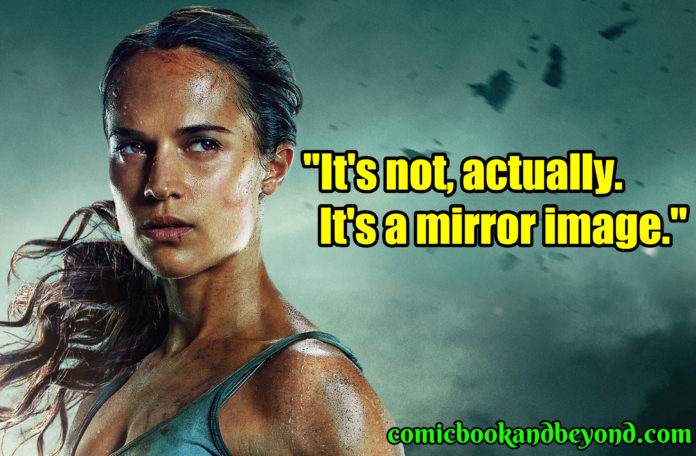 Lara Croft best quotes