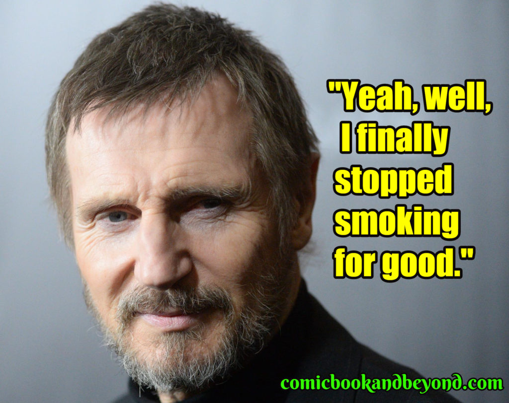 Liam Neeson best quotes