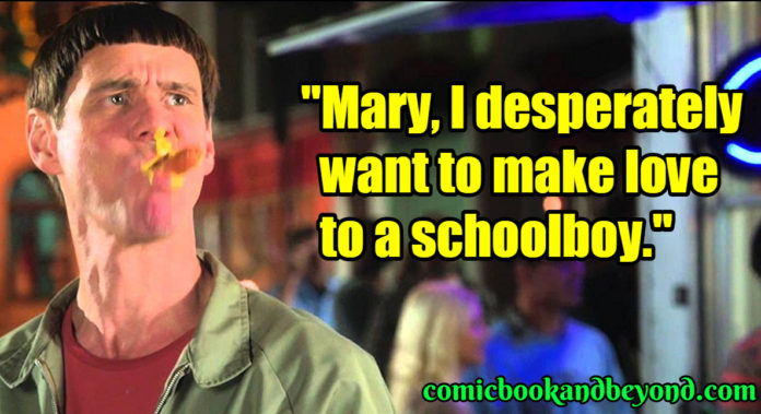 Lloyd Christmas saying