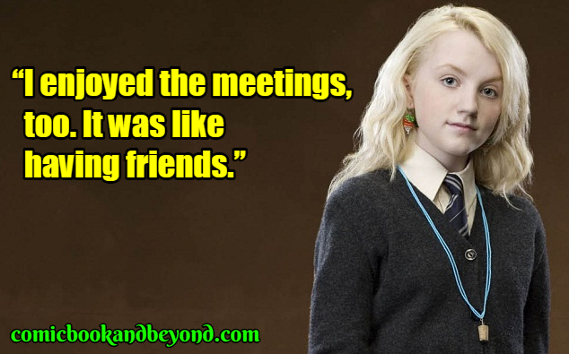 Luna Lovegood famous quotes