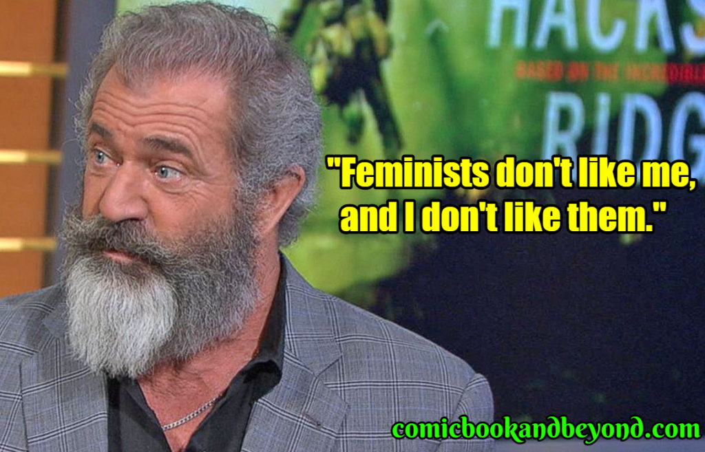 Mel Gibson best quotes