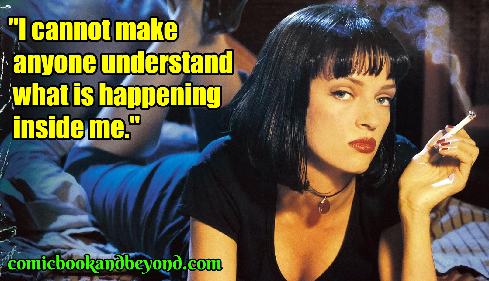 100+ Mia Wallace Quotes From Pulp Fiction Movie - Comic ...