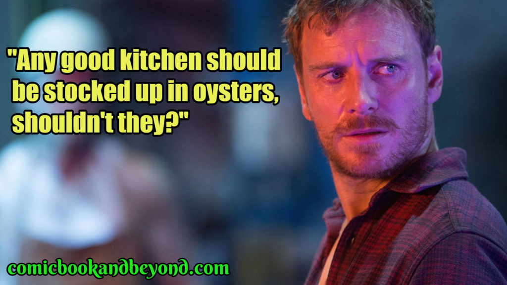 Michael Fassbender Popular Qoutes
