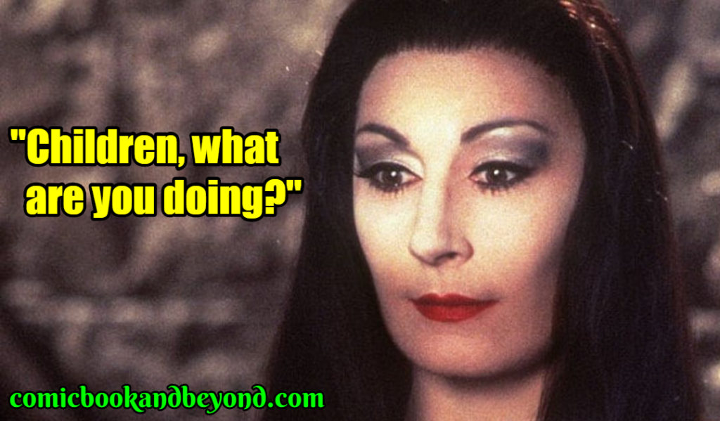 Morticia Addams famous quotes