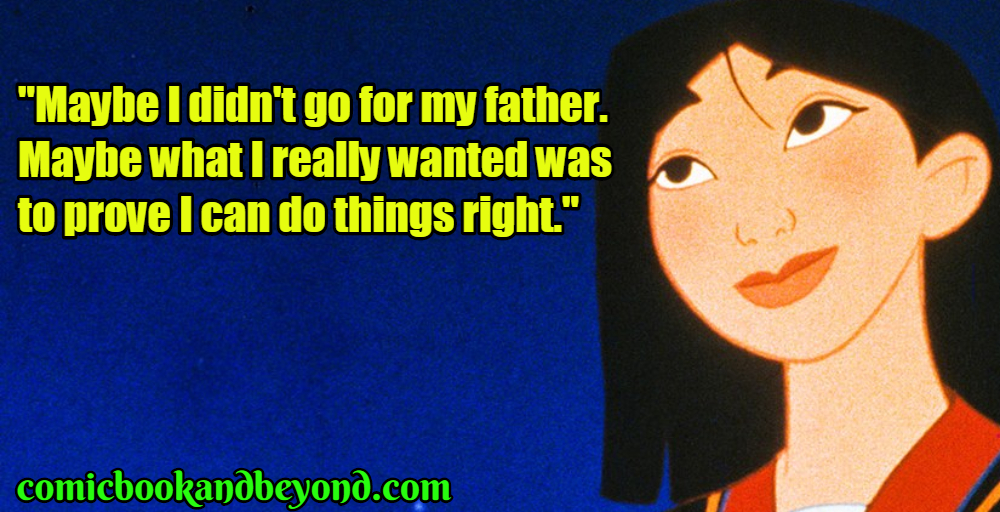 Mulan Saying