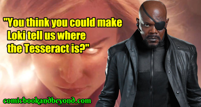 Nick Fury famous quotes