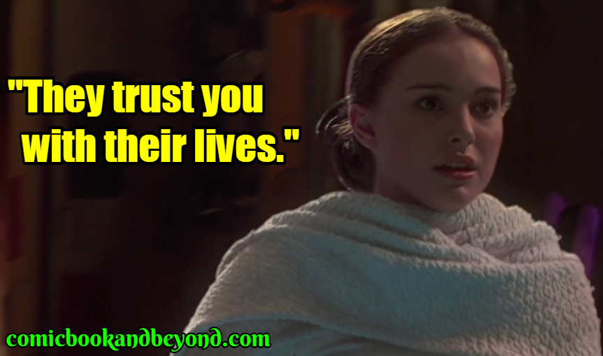 PadmÈ Amidala saying